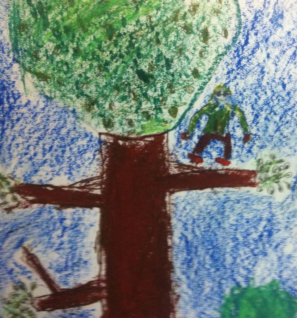klättra träd