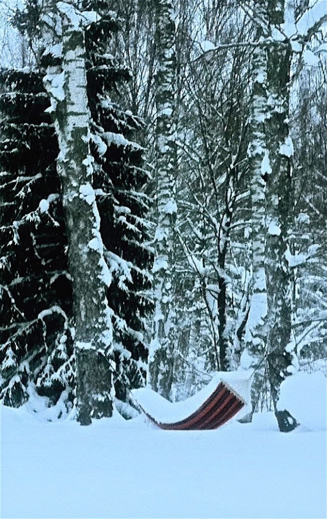 hängmattan m snö