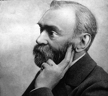Arkiv -Odaterad Alfred Nobel. COPYRIGHT SCANPIX SWEDEN  CODE 190/9814
