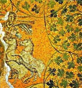 200-tal Mosaik Vaticangrotta under St