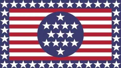 bilder på usas flagga