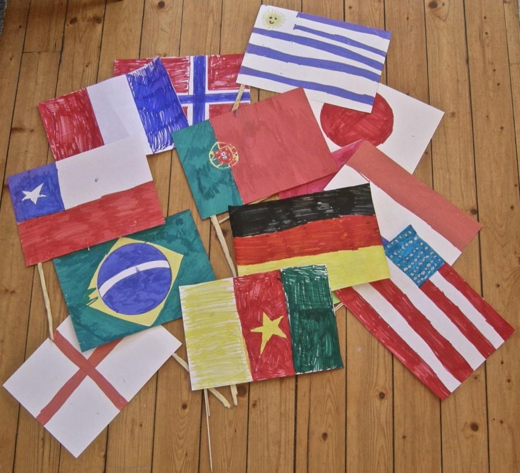 VM-flaggspel