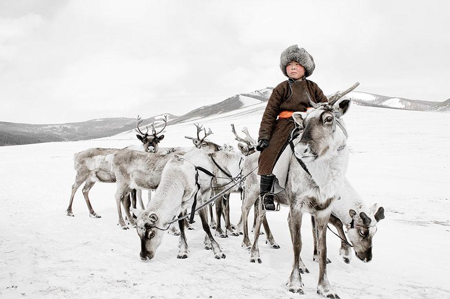 Tsaatan, Mongoliet