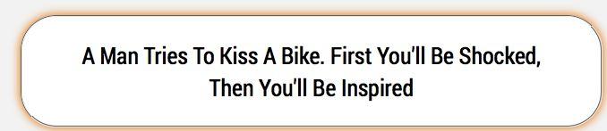 kiss a bike