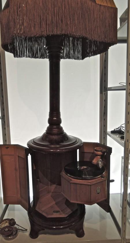lampgrammofon