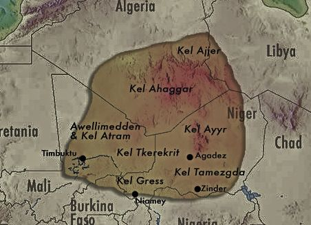 tuaregområdet