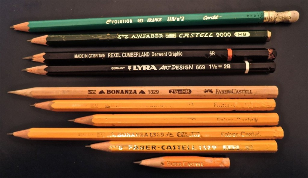 blyertspennor