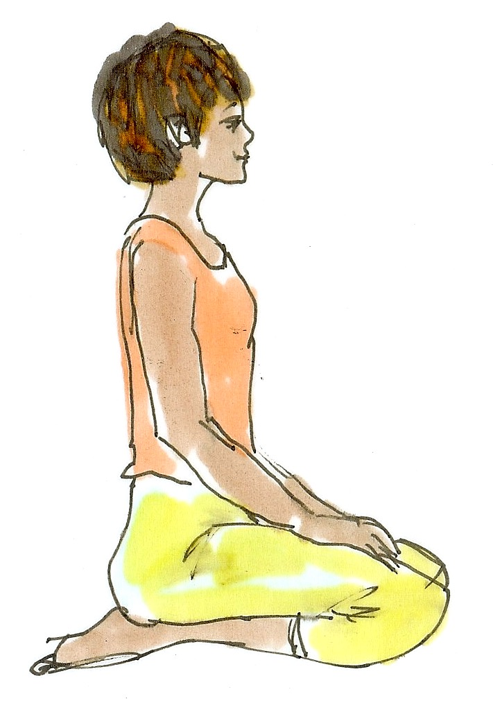 yoga klippställning