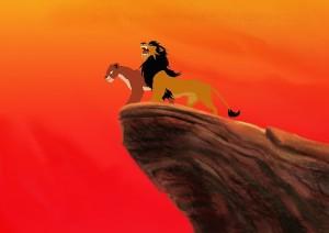 Lejonen, med födslorätt till tronen, regerar över ett rike där zebror och gaseller inte bara finner sig i att bli uppätna, utan även aktivt söker upp och bugar inför sina bödlar vid foten av rikets parlament: Lejonklippan.