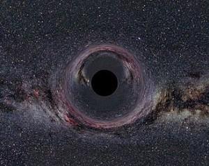 svart hål i vintergatan