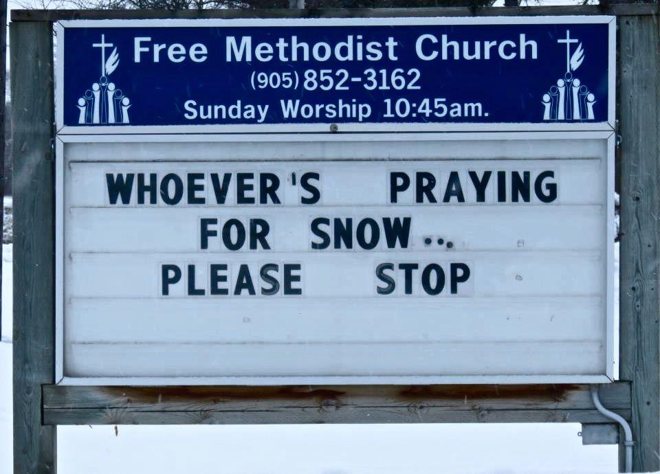 no more snow