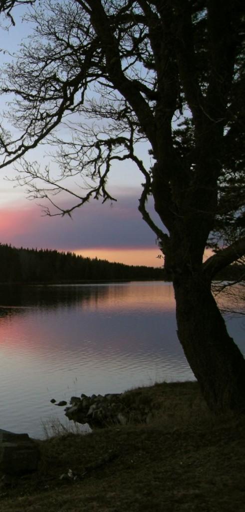 solnedgång 30 april