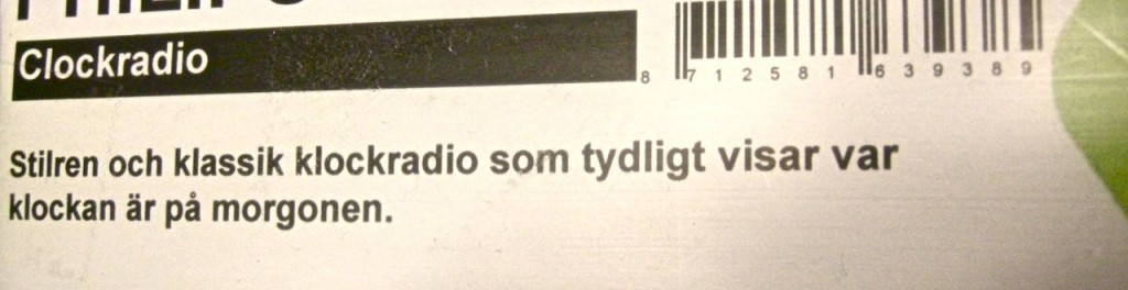 klockradio