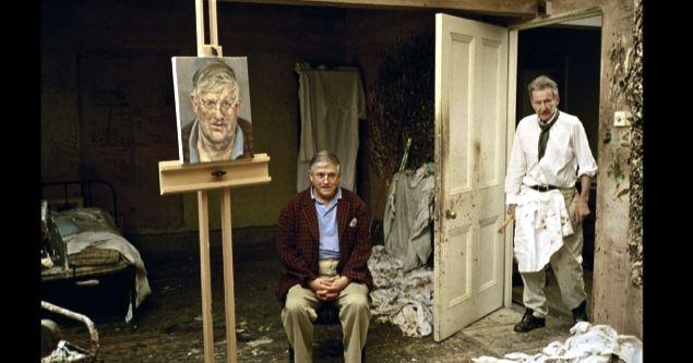Lucian Freud David Dawson David Hockney