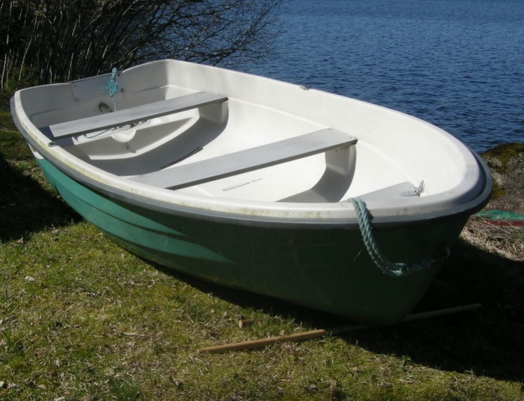 sjösätta båten