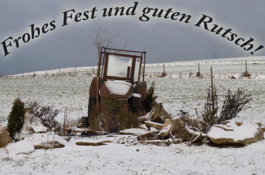 guten rutsch Bernardshof traktormuseum