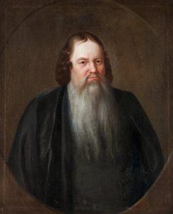 Det går bra att lägga bud på målningen av hovpredikant Carl Cederström. Börja med 60 000 kronor.